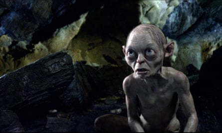 2012, THE HOBBIT: UNEXPECTED JOURNEY<br>GOLLUM Film 'THE HOBBIT: AN UNEXPECTED JOURNEY' (2012) Directed By PETER JACKSON 13 December 2012 SAB6531 Allstar Collection/NEW LINE CINEMA **WARNING** This photograph can only be reproduced by publications in conjunction with the promotion of the above film. A Mandatory Credit To NEW LINE CINEMA is Required. For Printed Editorial Use Only, NO online or internet use.