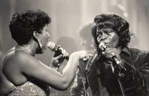 Aretha Franklin and James Brown, January 1987