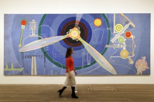Propeller (Air Pavilion), 1937 by Sonia Delaunay at Tate Modern.