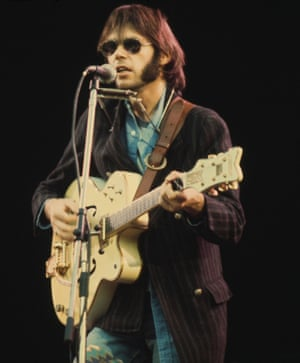 'It's a very psychedelic experience to have a seizure' … Neil Young.
