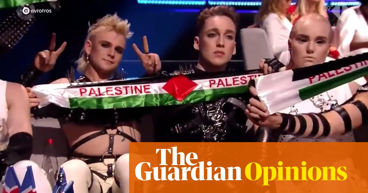 There should be nothing wrong in waving Palestinian flags at Eurovision | Michael Segalov