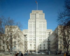 'Subtle choice': Senate House, University of London, designed by Charles Holden.