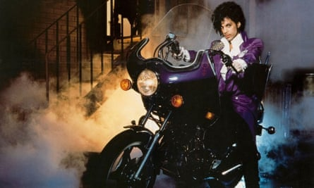 The singer Prince in the 1984 film, Purple Rain, directed by Albert Magnoli.
