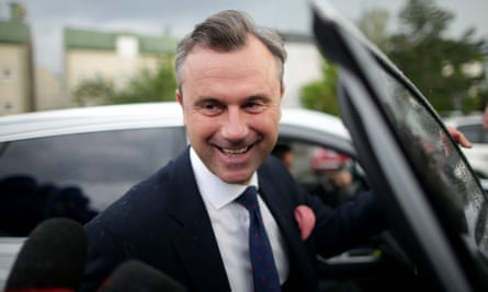 Norbert Hofer, candidate of the FPÖ in Sunday's elections.