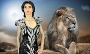 Nasim Najafi Aghdam, in a photo from her website.