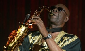 Manu Dibango performing in 2005.
