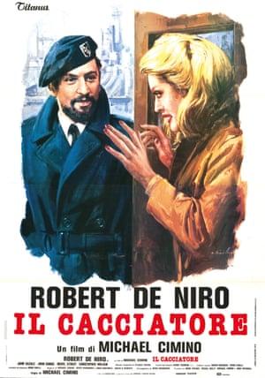The Deer Hunter Italian poster, 1979