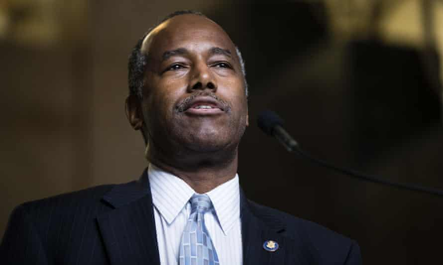 Ben Carson: 'I mean where else in the world do you see caravans of people trying to get into the country?'
