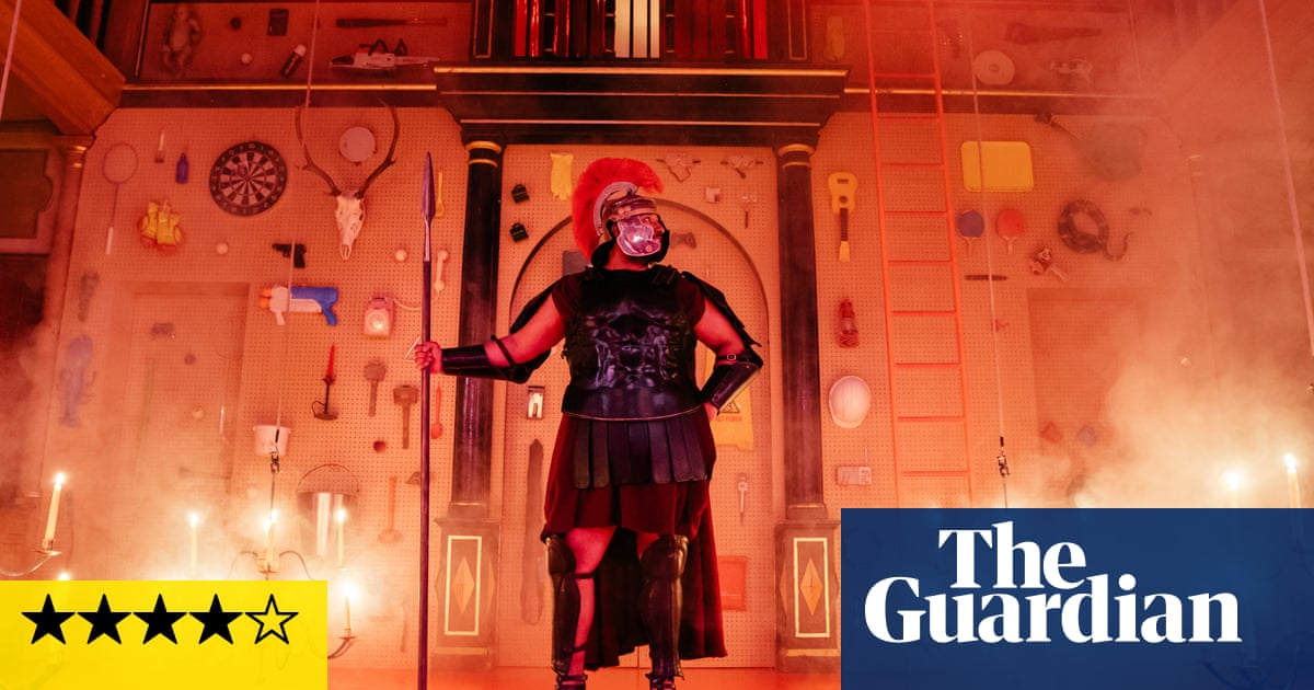 Metamorphoses review – riotous night of vice, profanity and shocks