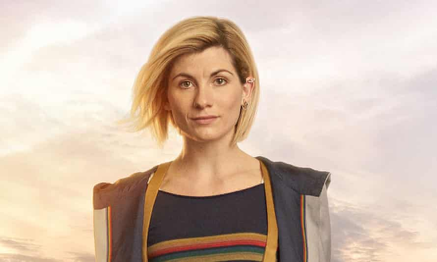 Jodie Whittaker in the much-discussed costume she will wear as Doctor Who.