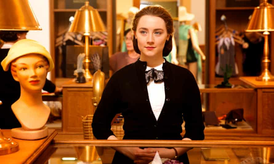 'One of the most intelligent and compelling screen presences of her generation': Saoirse Ronan as Eilis in Brooklyn.