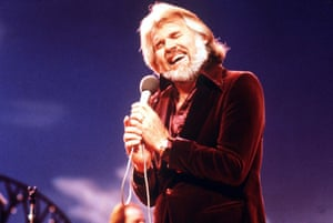 Kenny Rogers performing in 1979