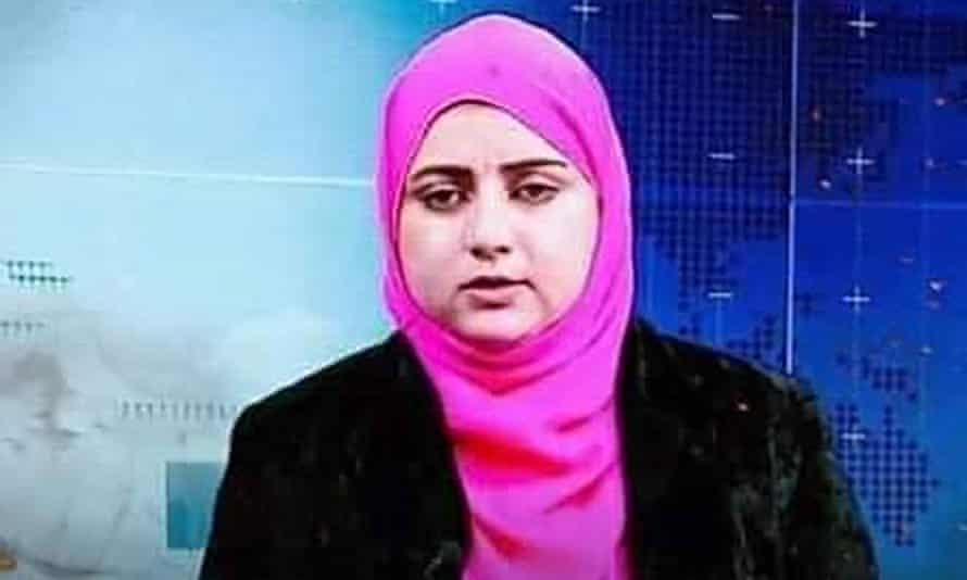 Malala Maiwand worked at Enikas Radio and TV in Nangarhar