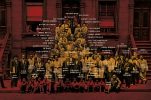 Harlem 1958 – the full group shot with annotation
