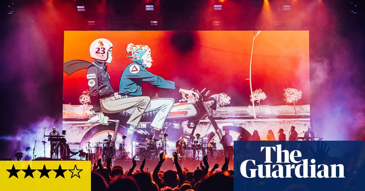 Gorillaz review – Damon Albarn and friends make a bit of live music history