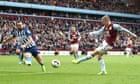 Matt Targett scores late winner for Aston Villa against 10-man Brighton