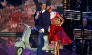 Prince Emanuele on Ballando con le Stelle in 2009, Italy's version of Dancing with the Stars.