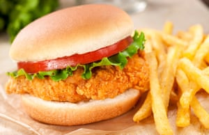 Fried chicken sandwiches: theoretically possible, but nearly always a failure.