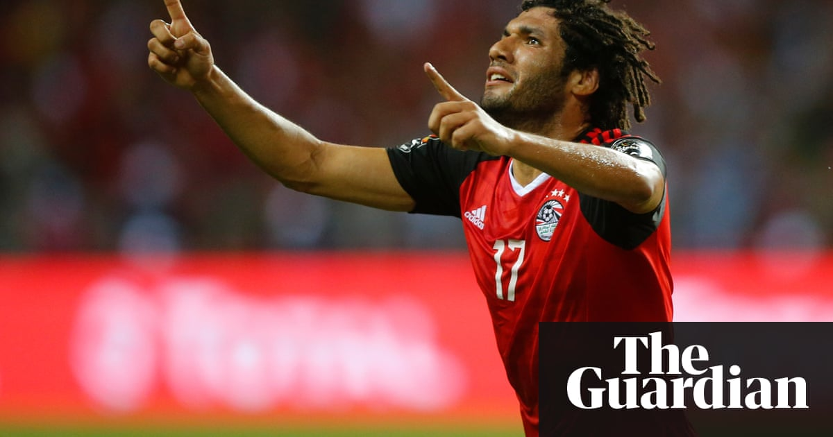 Egypt 1 2 cameroon afcon 2017 final as it happened football egypts mohamed elneny sciox Choice Image