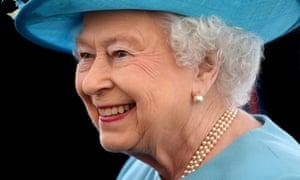 Queen Elizabeth II, earlier this month.