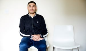 Kasim Mahmood, who was defrauded by someone via Snapchat.