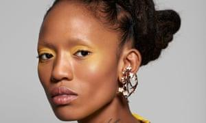 Watercolour effects: earrings by shaunleane.com.