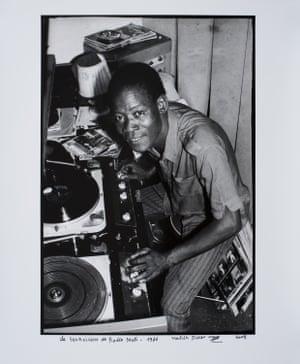 Le technicien de radio mali