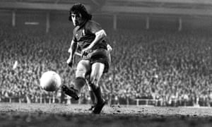 """""""Kevin Keegan in action for Liverpool in 1976."""""""