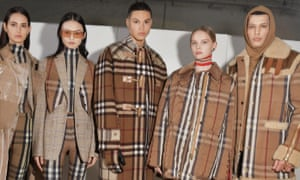 Backstage at the Burberry autumn/winter 2020 show