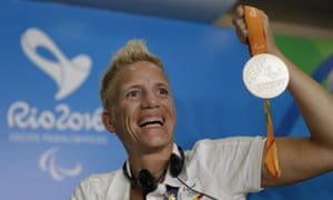 Marieke Vervoort: 'I signed my papers in 2008. Look now, 2016 and I won the silver medal yesterday'.