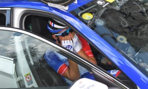 The ecstasy has once again turned to agony for France's Thibaut Pinot.