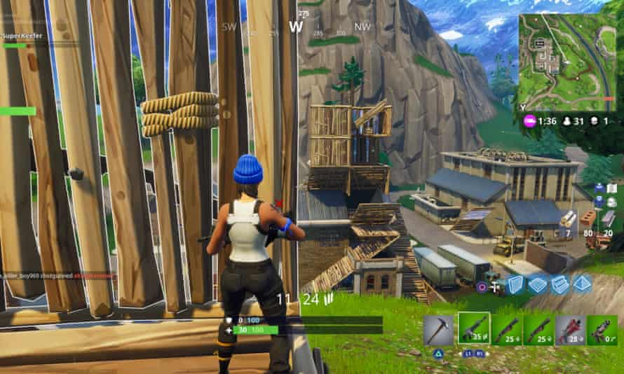 Girls taking their clothes off for every kill in fortnight How To Survive In Fortnite If You Re Old And Slow Games The Guardian