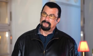 'I was completely caught off guard. Tears were coming down my face,' said Regina Simons of her encounter with Steven Seagal.