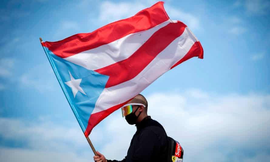 Puerto Rican protester