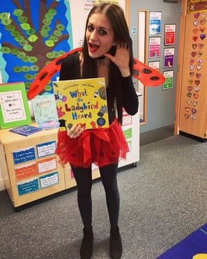 What the Ladybird Heard I'm the Assistant Headteacher of a primary school in London and I came as the ladybird from Julia Donaldson's book: 'What the Ladybird Heard.'