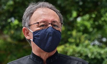 Governor of Okinawa Denny Tamaki