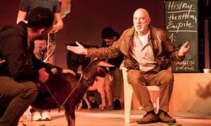 Carlos Chahine as the teacher.