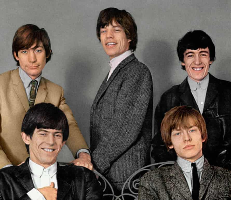 With the Rolling Stones.
