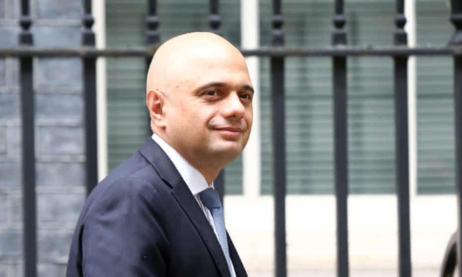 Sajid Javid, the new health secretary