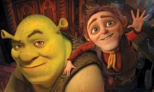 Rumpelstiltskin and Shrek in Shrek Forever After