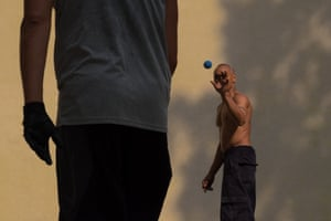 New York City – men playing handball