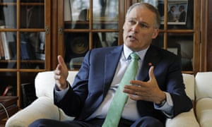 Jay Inslee at his office in Olympia, Washington on 24 January 2019.