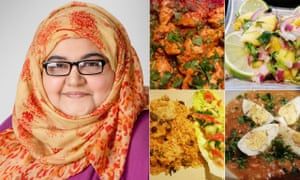 Halima Intikhab, of Curry On Halima, and some of her dishes.
