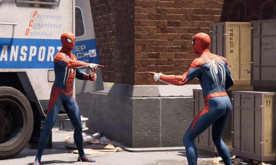 Spiderman film still