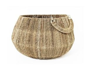 Interiors website Kinfolk Decor is inspired by the Pennines, with most products made from natural materials. Jute basket, £32, Kinfolkdecor.co.uk