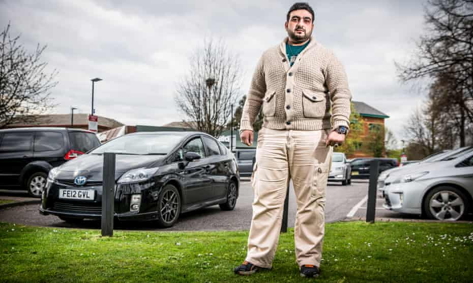 Hassan Mirza, an Uber driver from Southall, west London: 'I am a partner of a big company who has changed the game.'