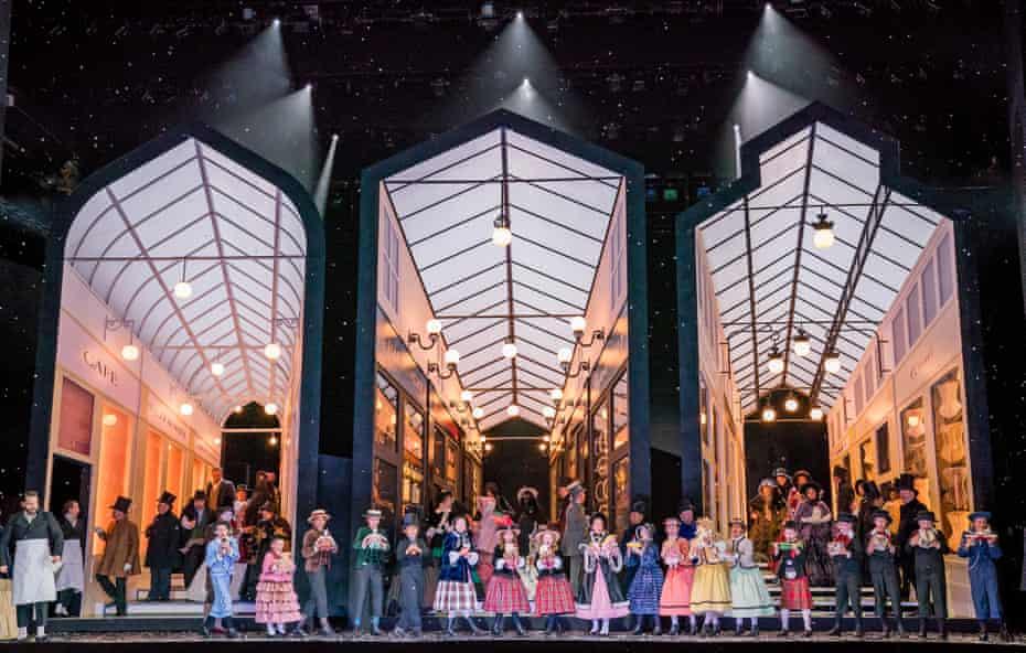 La bohème at the Royal Opera House.