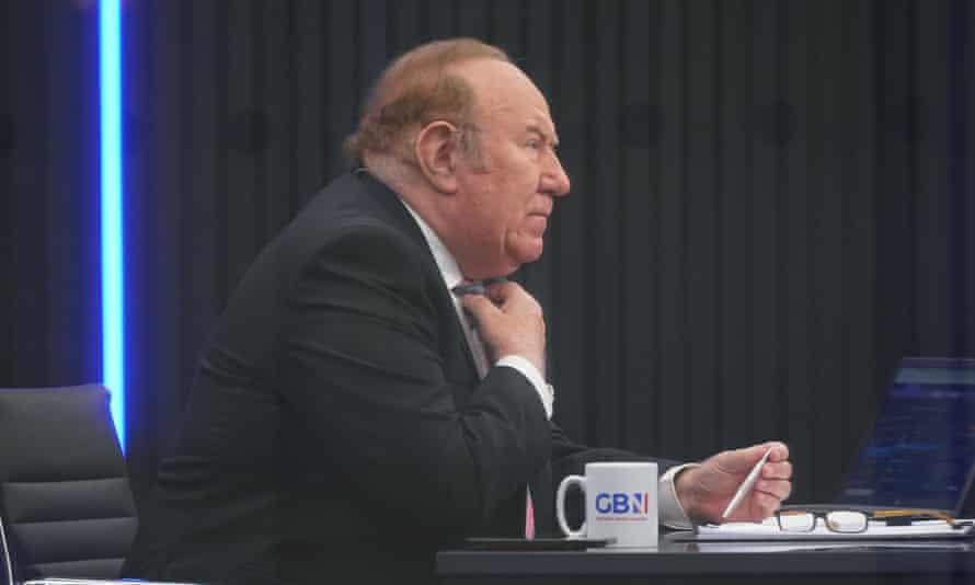 GB News' figurehead, Andrew Neil, lists his main residence as being in France.