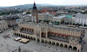 Kraków, Poland. The rights of Polish people in the UK are of concern to the country's leaders.