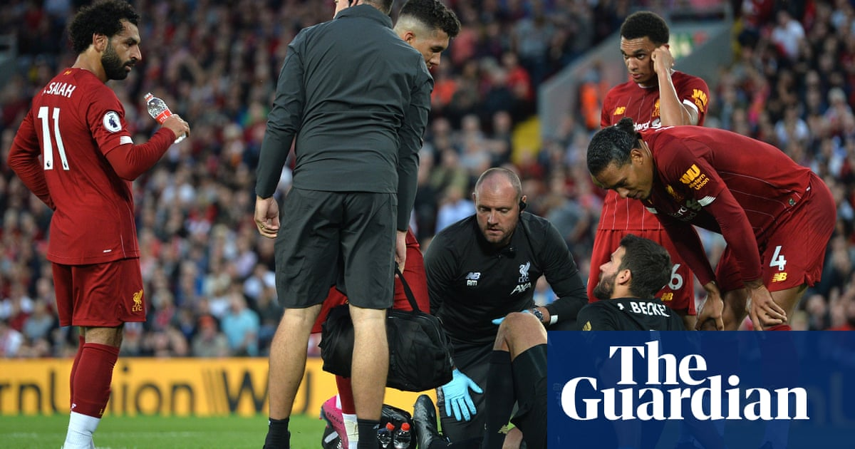 Liverpool's Alisson set to be out for 'next few weeks', confirms